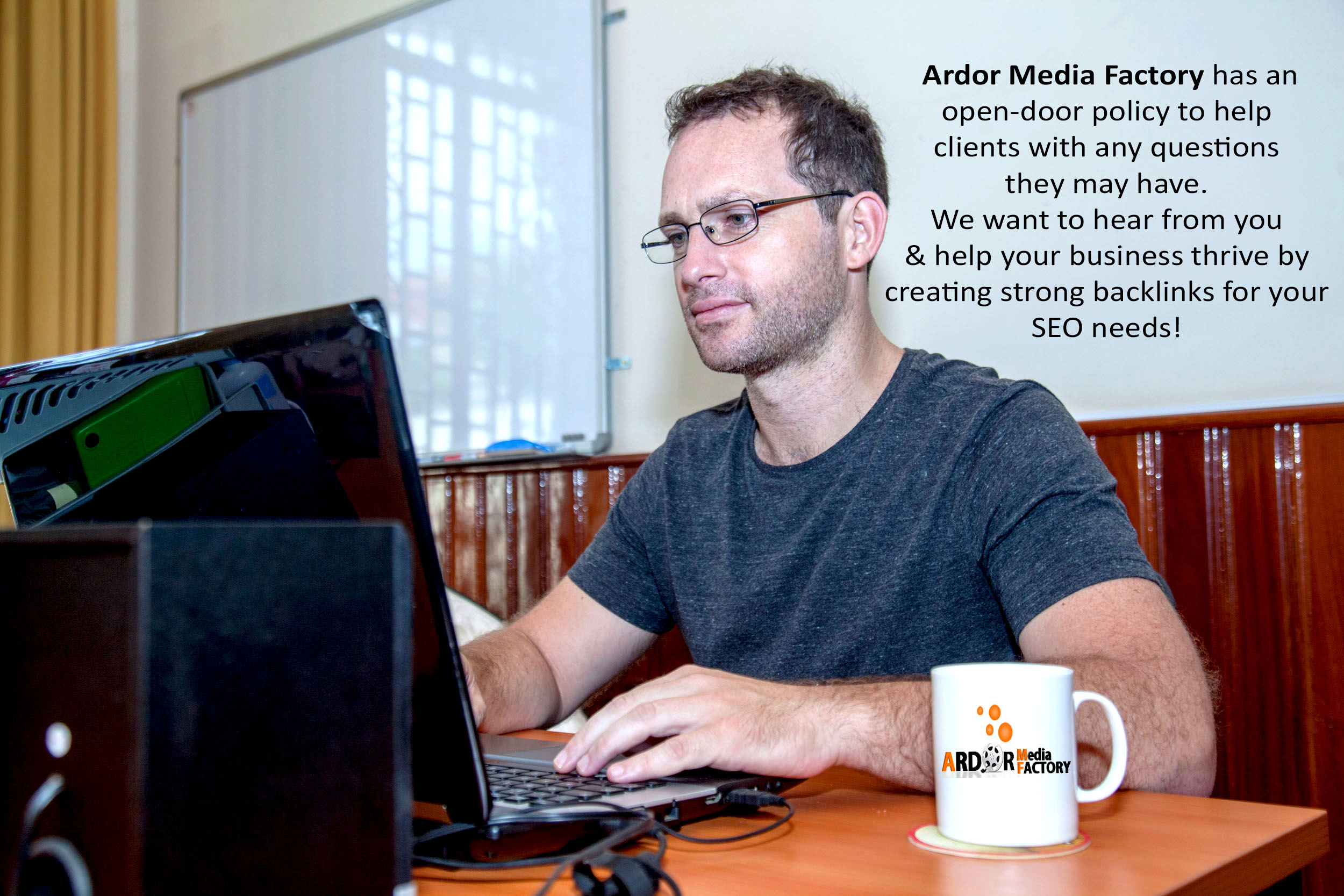 Kris Reid, Coolest Guy in SEO, creating strong backlinks for your SEO needs.