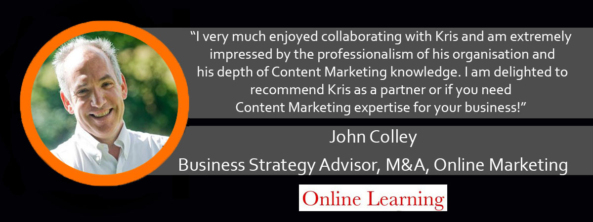 John Colley Ardor Media Factory Testimonial