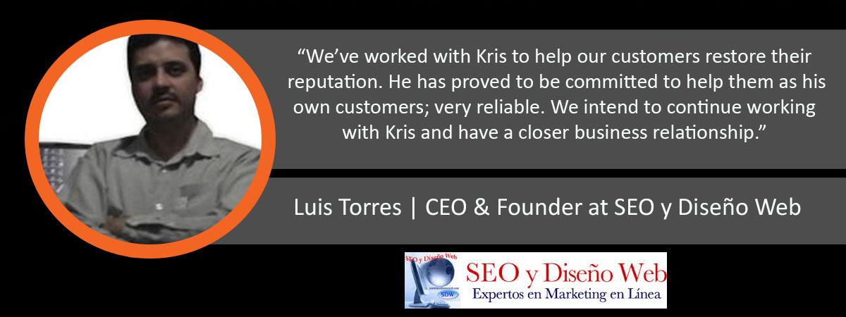 Luis Torres Ardor Media Factory Testimonial