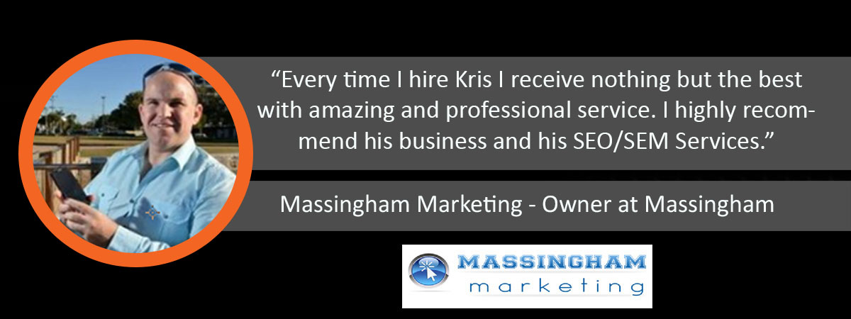 Massingham Marketing Ardor Media Factory Testimonial