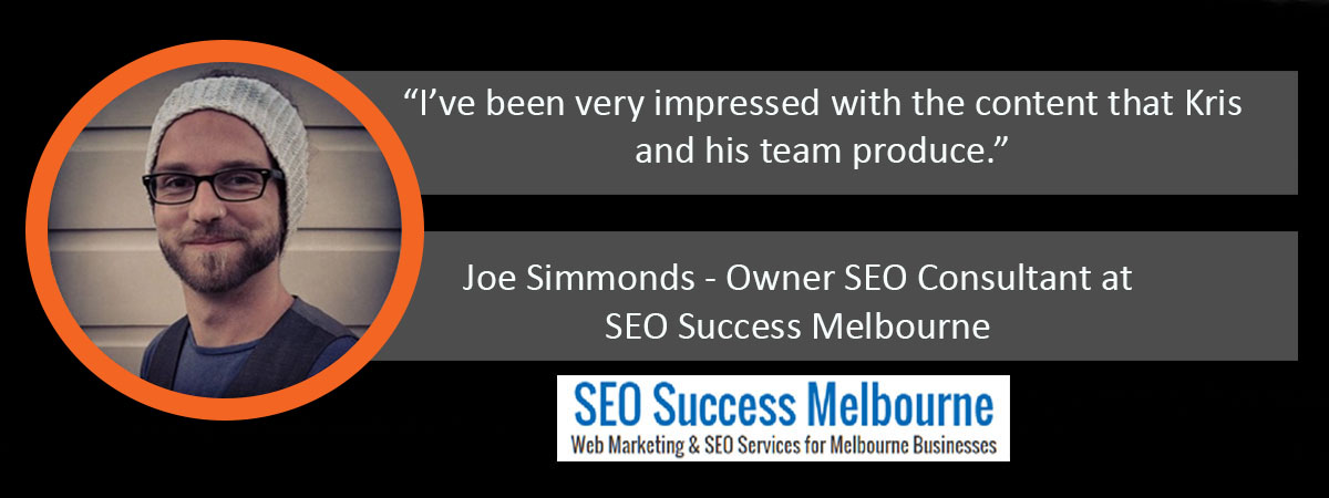 Joe Simmonds Ardor Media Factory Testimonial